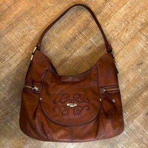 RARE TENTAZIONE DUE Italian Leather Handbag